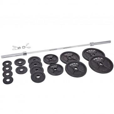 York Barbell 140kg Olympic Barbell Set