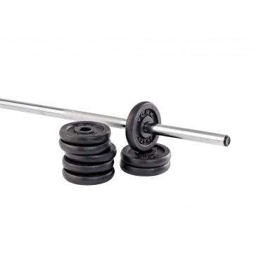 "York Fitness Standard 1"" Cast Iron Weight Plates"