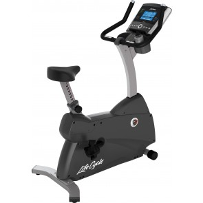 Life Fitness C3 Upright Cycle with Go console