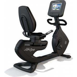 Life Fitness Platinum Club Series Recumbent  Cycle with Discover SI console