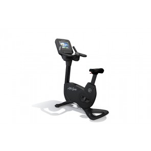 Life Fitness Platinum Club Series Upright Cycle with Discover SI console