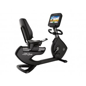 Life Fitness Platinum Club Series Recumbent  Cycle with Discover SE console