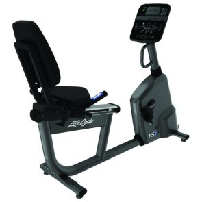 Life Fitness RS1 Recumbent Lifecycle Exercise Bike with Track Connect Console
