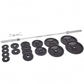 York Barbell 140kg Olympic Barbell Set