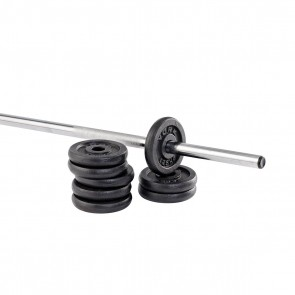 "York Fitness Standard 1"" Cast Iron Weight Plates"